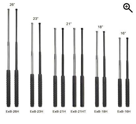 EXPANDABLE BATONS HARDENED